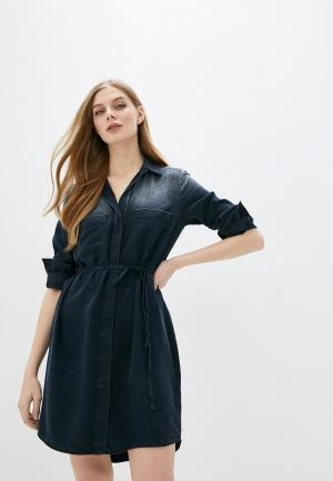 Платье джинсовое Marc OPolo O'Polo. Цвет: синий