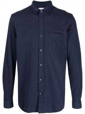 Рубашка на пуговицах Closed. Цвет: синий