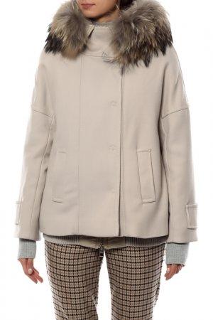 Комплект: куртка, жилетка Violanti. Цвет: бежевый