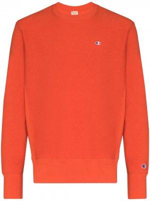 Толстовка Reverse Weave Champion. Цвет: оранжевый