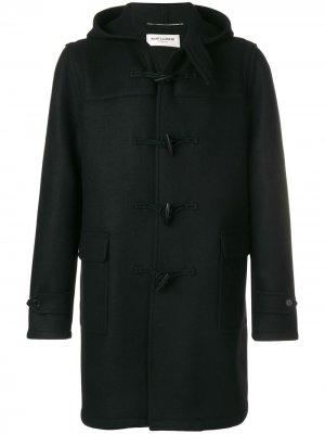 Classic duffle coat Saint Laurent. Цвет: черный