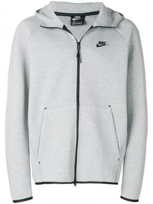 Флисовая толстовка Tech Nike. Цвет: серый