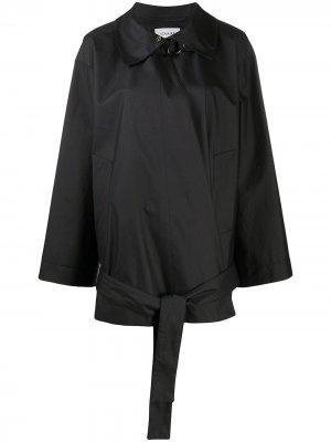 Ветровка с поясом Lemaire. Цвет: черный