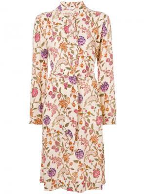 Alina floral print dress Antik Batik. Цвет: нейтральные цвета