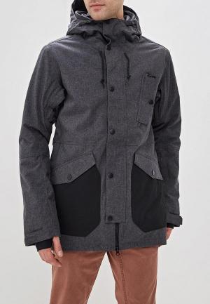 Куртка горнолыжная Billabong. Цвет: серый
