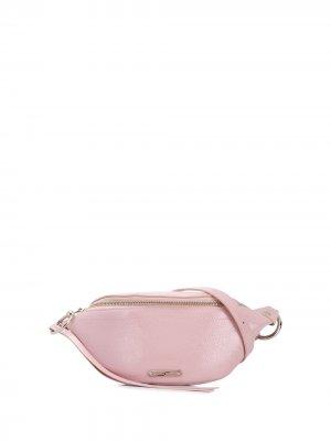 Поясная сумка Rebecca Minkoff. Цвет: розовый