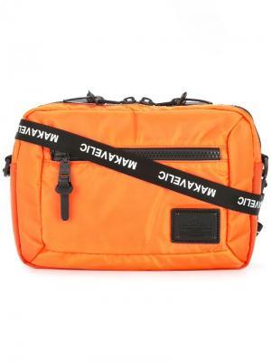 Bi-layer pouch crossbody bag Makavelic. Цвет: желтый