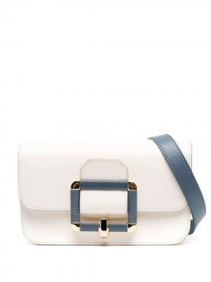 Поясная сумка Janelle Bally. Цвет: нейтральные цвета