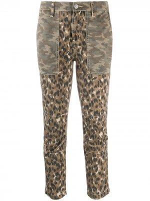 Укороченные брюки Clean Weslan Current/Elliott. Цвет: коричневый
