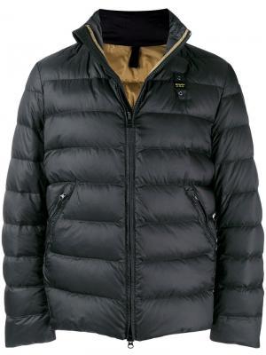 Puffer jacket Blauer. Цвет: черный