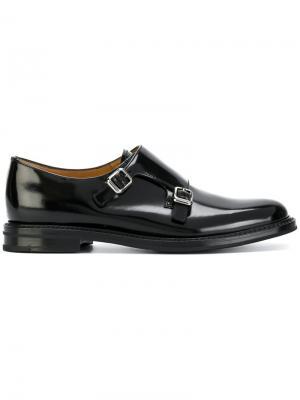 Churchs ботинки-монки Church's. Цвет: черный