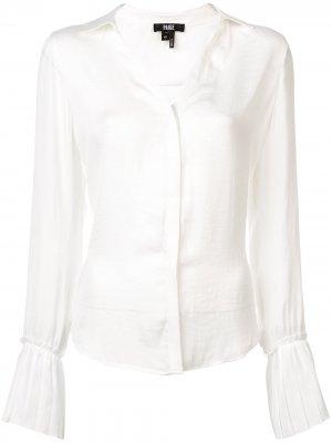 Flared sleeves shirt PAIGE. Цвет: белый