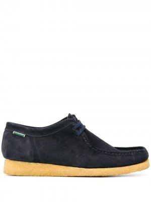 Туфли на шнуровке Sebago. Цвет: синий