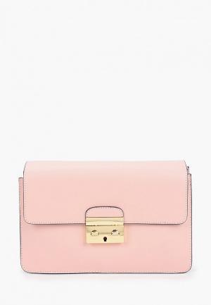 Сумка Pulicati. Цвет: розовый