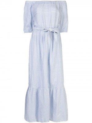 Пляжное платье Semira lemlem. Цвет: синий