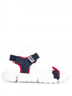 Сандалии с ремешками Tommy Jeans. Цвет: синий