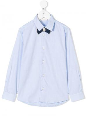 Bow-tie detail shirt Bimbalo. Цвет: синий