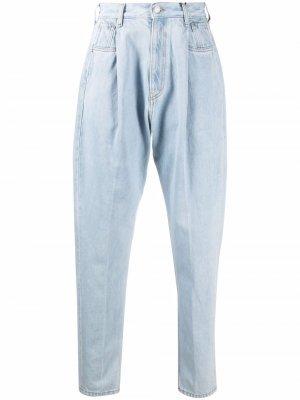 Зауженные джинсы с завышенной талией Tommy Hilfiger. Цвет: синий