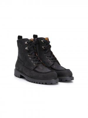 Ботинки карго Gallucci Kids. Цвет: черный
