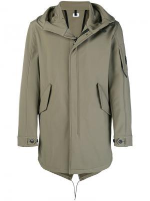 Hooded parka coat CP Company. Цвет: зеленый