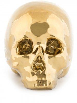 Статуэтка My Skull Seletti. Цвет: золотистый