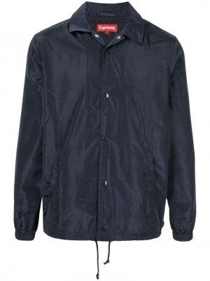 Digi Coaches jacket SS17 Supreme. Цвет: синий