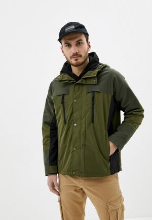 Куртка Jack & Jones. Цвет: хаки