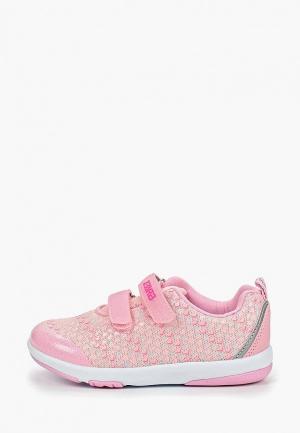 Кроссовки ZeBra. Цвет: розовый