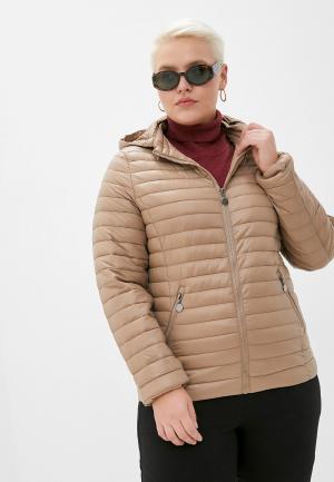 Куртка утепленная Z-Design. Цвет: бежевый