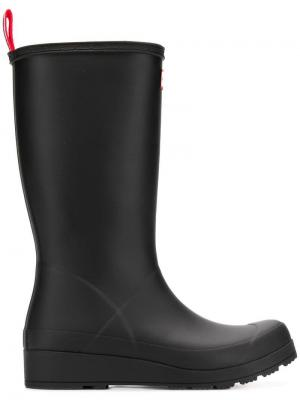 Mid-calf rain boots Hunter. Цвет: коричневый