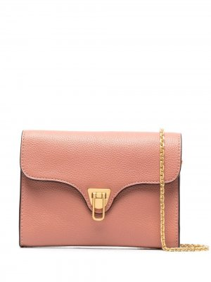 Мини-сумка через плечо Beat Coccinelle. Цвет: розовый