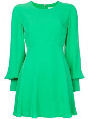 Платье Ck Calvin Klein. Цвет: зеленый