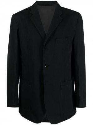 Однобортный пиджак оверсайз Lemaire. Цвет: черный