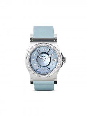Наручные часы Verdict 36 мм Jorg Hysek. Цвет: синий