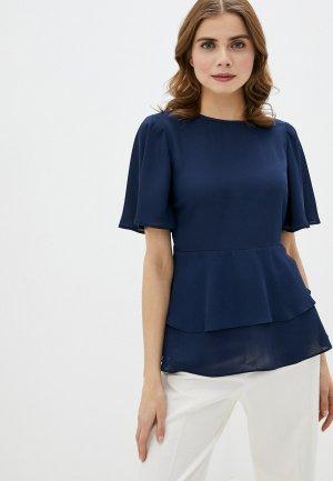 Блуза Dorothy Perkins. Цвет: синий