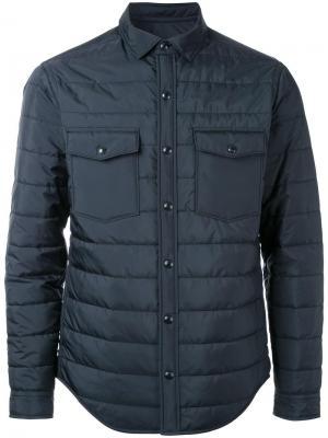 Утепленная куртка Kent & Curwen. Цвет: черный