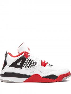 Кроссовки  4 Retro Jordan. Цвет: белый