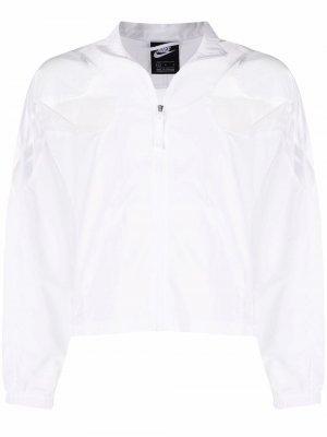 Спортивная куртка Sportswear Nike. Цвет: белый
