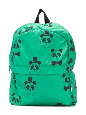Рюкзак с принтом Mini Rodini. Цвет: зеленый