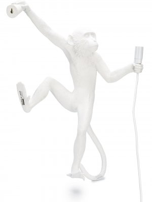 Подвесная лампа Monkey Seletti. Цвет: белый