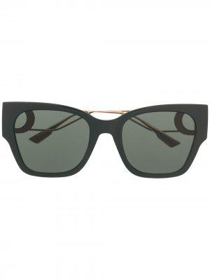 Солнцезащитные очки 30 Montaigne 1 в квадратной оправе Dior Eyewear. Цвет: зеленый