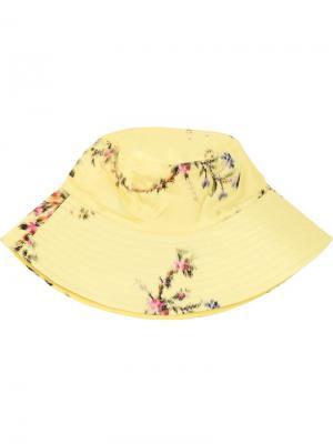 Floral print bucket hat Preen By Thornton Bregazzi. Цвет: желтый
