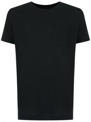 Short sleeve T-shirt Osklen. Цвет: черный