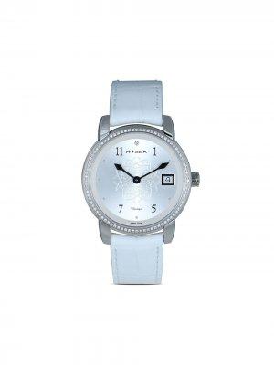 Наручные часы IO Classique 36 мм Jorg Hysek. Цвет: белый
