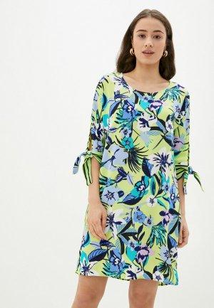 Платье Betty Barclay. Цвет: зеленый