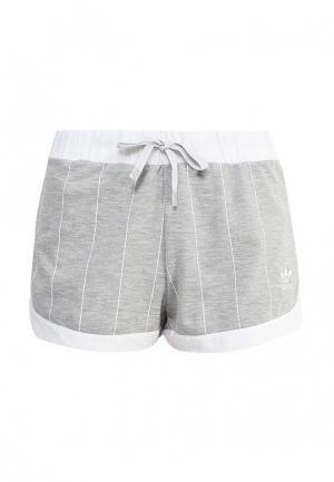 Шорты спортивные adidas Originals. Цвет: серый