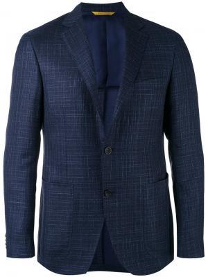 Пиджак-блейзер Kei Canali. Цвет: синий