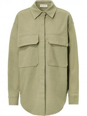 Куртка-рубашка Calista Nicholas. Цвет: зеленый