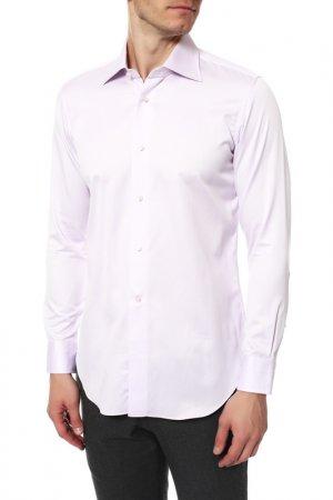 Рубашка Colletto Bianco. Цвет: сиреневый