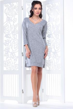 Платье Laura Bettini. Цвет: серый